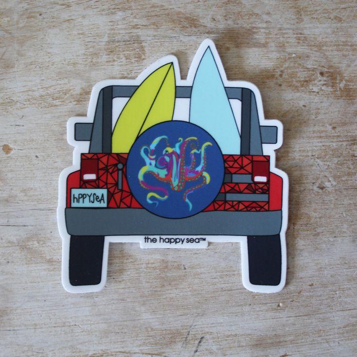 "3"" Jeep Sticker"
