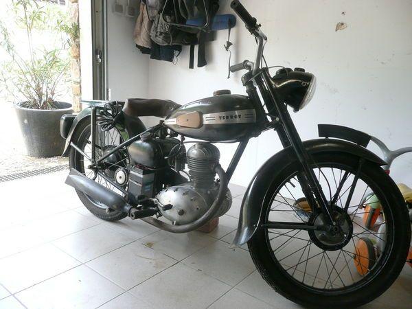 Moto ancienne, de collection TERROT 125 cm3 - 1951 - 1250 € - Poleymieux-au-Mont-d'Or (Rhône) WV152327822