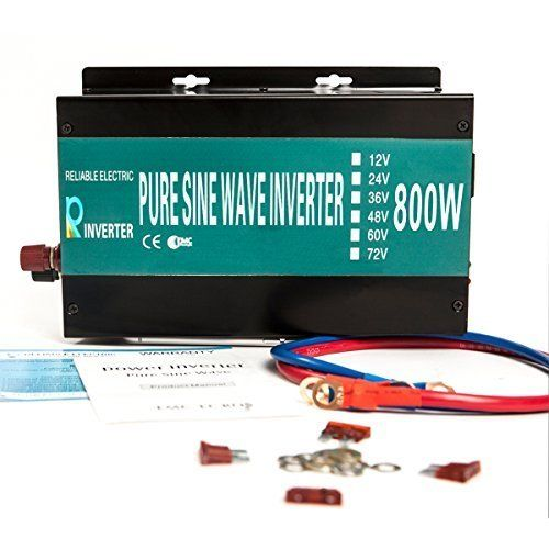 Reliable Powerdrive Inverter 800w 1600w Peak Pure Sine Wave Inverter 12v 120v 60hz LED Display Yueqing Reliable http://www.amazon.com/dp/B0154BQFDU/ref=cm_sw_r_pi_dp_D.lIwb12C1CTX
