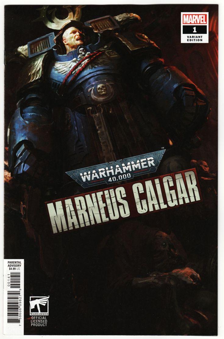 WARHAMMER 40K MARNEUS CALGAR 1 thru 5 FULL set and Variants plus TPB NM Marvel
