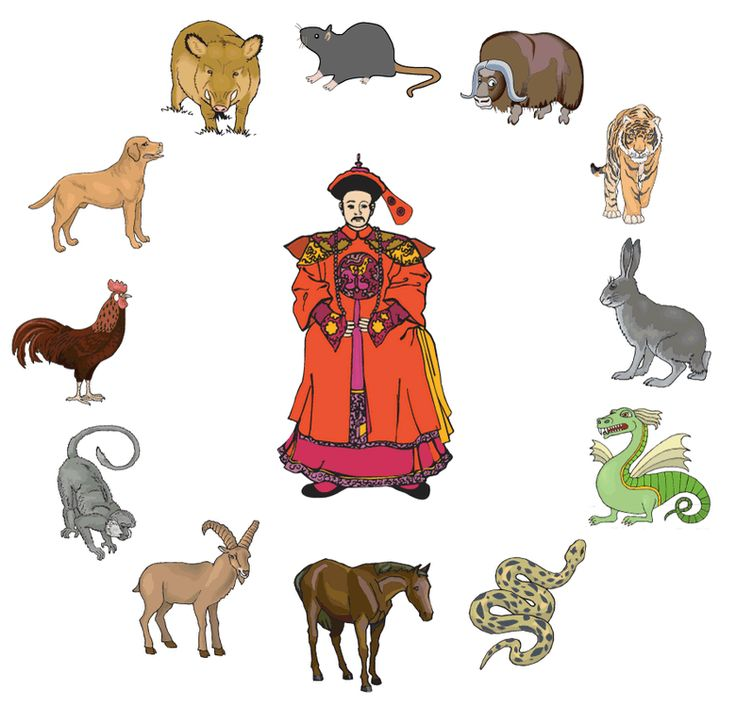 An illustrated story of the Chinese Zodiac
