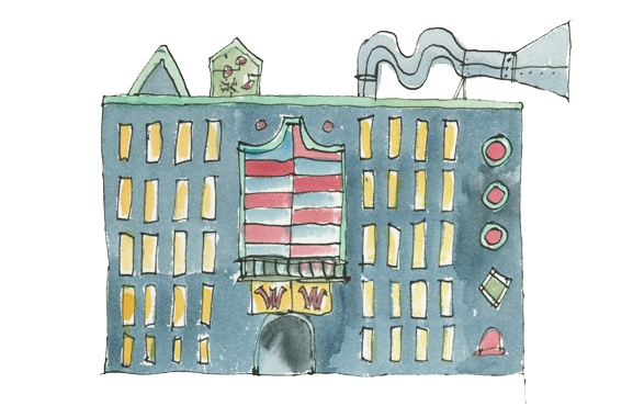 Quentin Blake.  The chocolate factory!