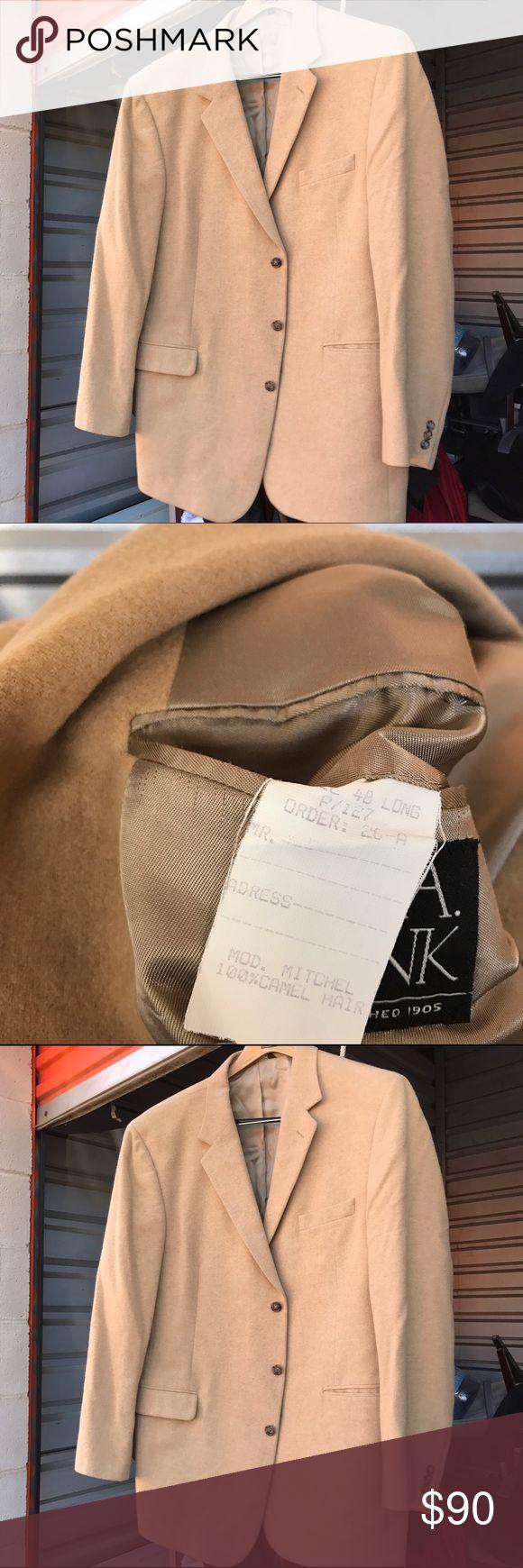 Carmel hair Sport Coat Authentic Carmel hair Sport Coat. JOS A BANK Suits & Blazers Sport Coats & Blazers