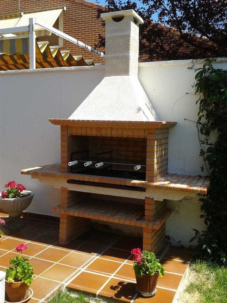 20 best Cheminées images on Pinterest Bar grill, Barbecue and Ovens - plan de travail pour barbecue exterieur