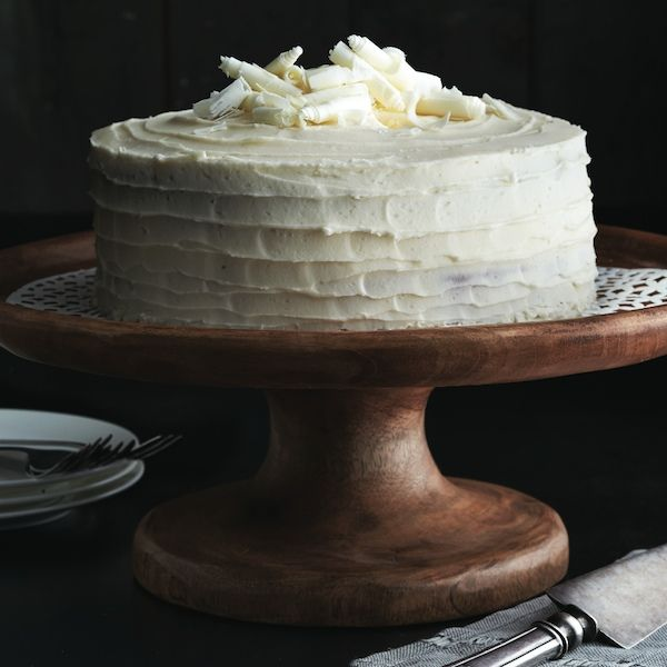 Classic vanilla cake. Introducing our go-to cake recipe! It's easy, fast and spectacular. It looks best in two 8-in. cake pans; to use 9-in. pans, decrease the baking time to 30 min. Chatelaine