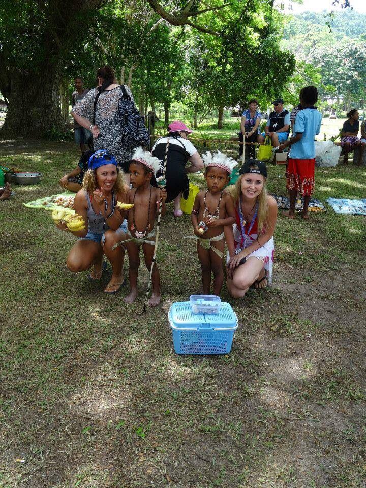 Doini Island local children PNG kids