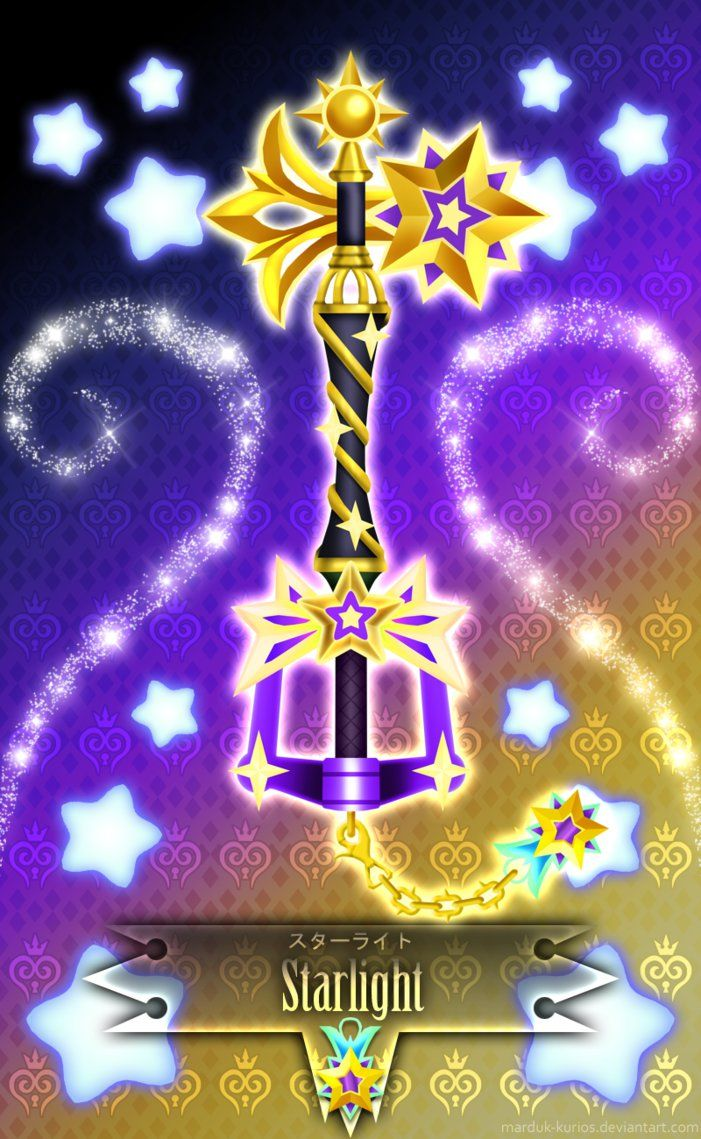 Keyblade Starlight -V- by Marduk-Kurios on DeviantArt