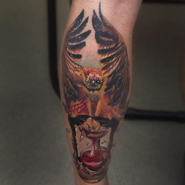55 Tatuagens de Fênix Lindas (as melhores fotos!!!)