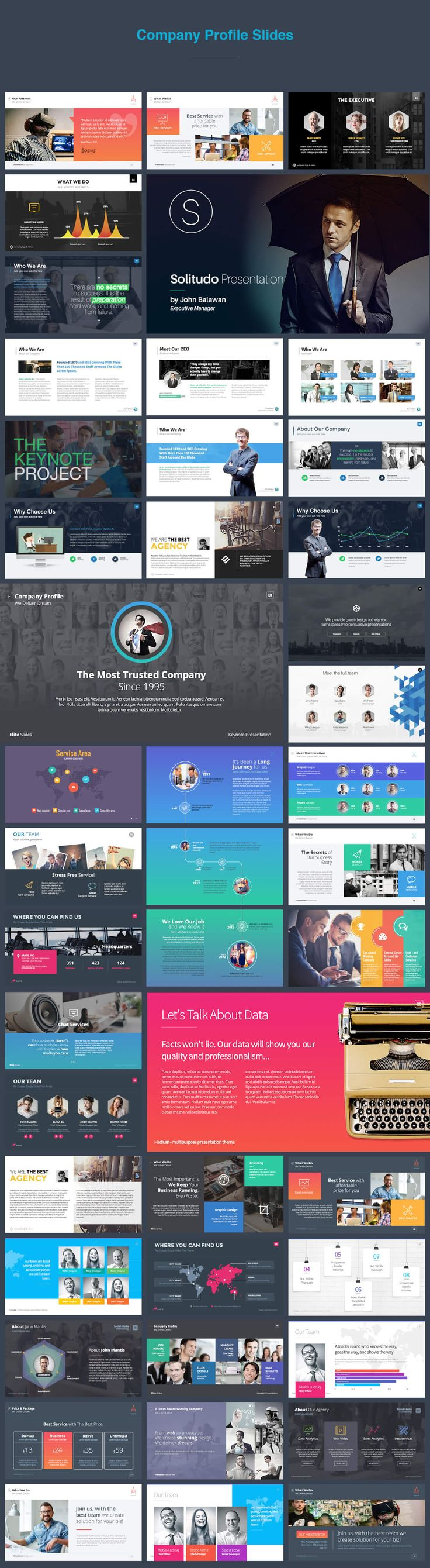 30 Keynote Templates (6100+ slides) from Slidehack - only $37! - MightyDeals