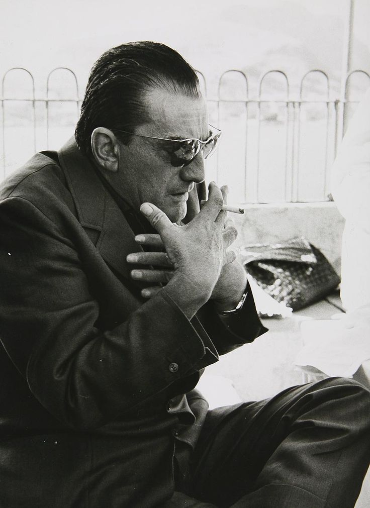 Luchino Visconti, photographed by Nicolas Tikhomiroff