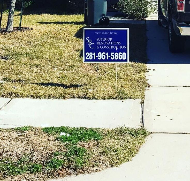 Spotted one of our yard signs! Give us a call today for an estimate!