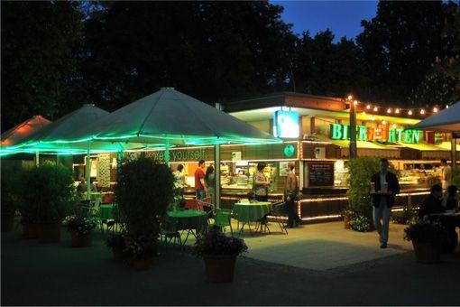 Stuttgarter Schlossgarten Biergarten