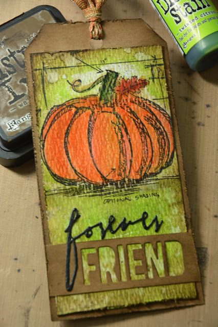 Tim Holtz 12 Tags of 2016 July