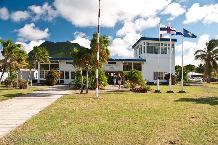 F.D. Roosevelt Airport on Sint Eustatius