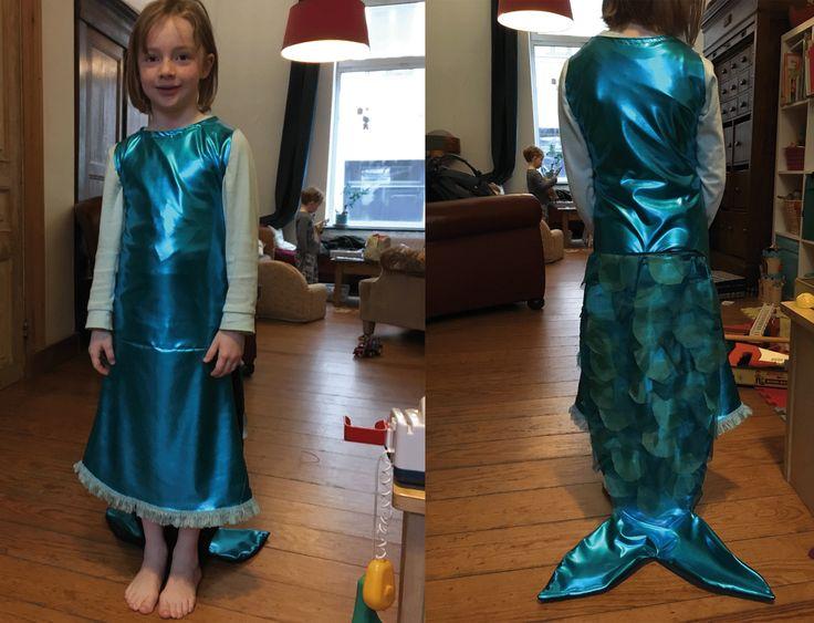 Mermaid DIY Costume - Déguisement sirène fait maison _  © Hoshi