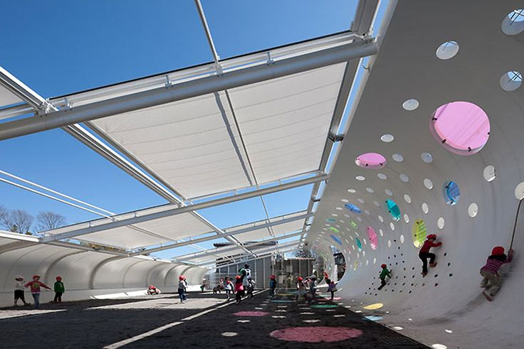 etre design: playground for machida kobato kindergarden
