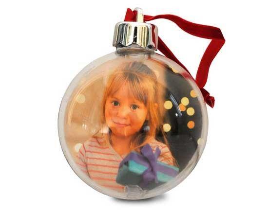 Personalizza la tua palla di Natale con foto e testi