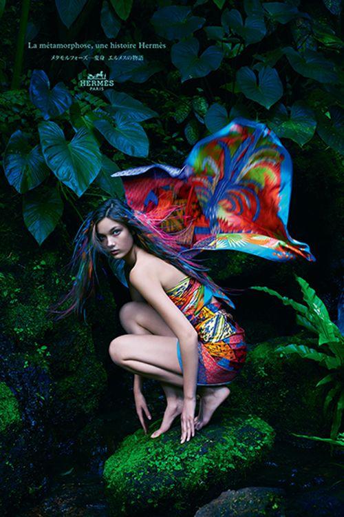 エルメス、変身の始まり - ミステリアスな2014年春夏広告キャンペーン | ニュース - ファッションプレス