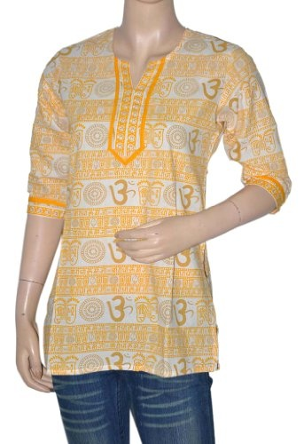 Party Wear Tunic & Top Womens Clothing Blouse-Indian Boho Ladies Casual Wear Kurta Size XL « Clothing Impulse