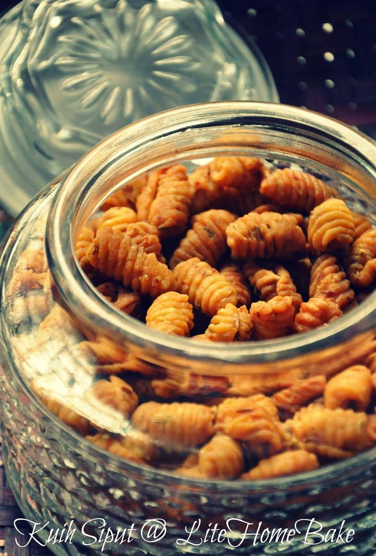Lite Home Bake: Old Time Cookies - Kuih Siput