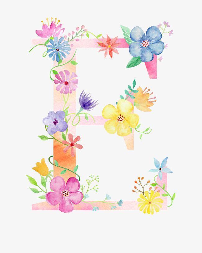 Flowers On The Letter E Png And Clipart Clipart Flowers Letter Png Blumen Zeichnen Hintergrundbilder Blumen