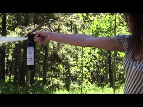 Bear Spray Practice | SABRE's Frontiersman - YouTube