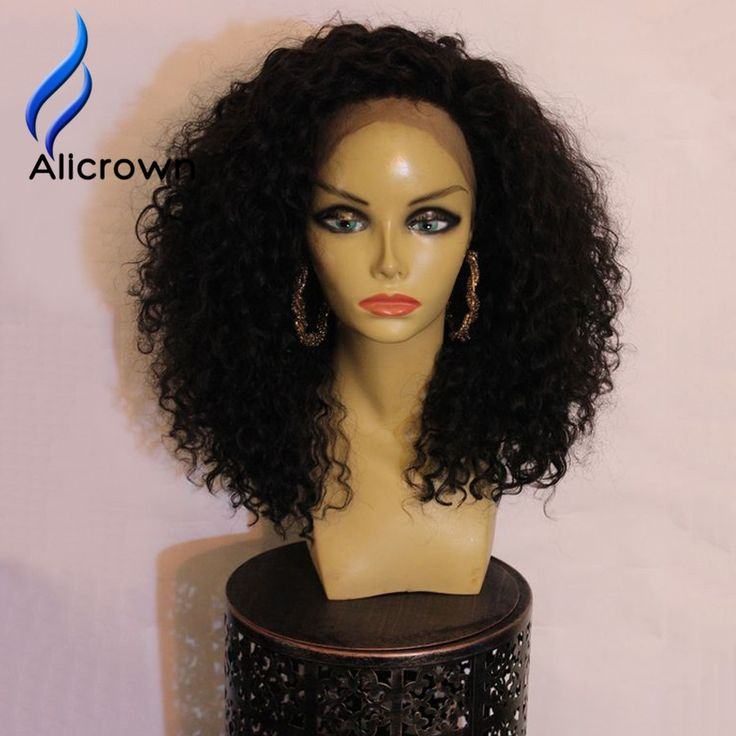 118.32$  Buy here - http://alint7.worldwells.pw/go.php?t=32773613039 - ALICROWN 180 Density Lace Front Wig Brazilian Full Lace Curly Wigs Bleached Knots Curly Lace Wig 10a Brazilian Lace Front Wigs
