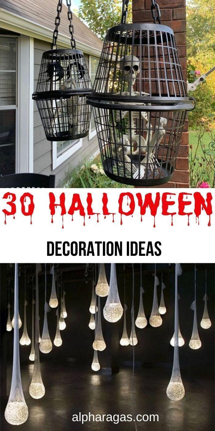 20 Creepy DIY Halloween Decoration Ideas   Creepy halloween ...