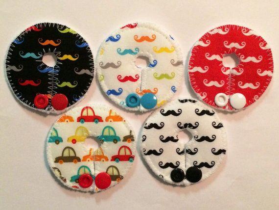 Mickey Button Feeding Tube Clip Art