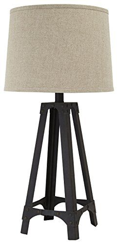 Signature Design by Ashley L207984 Metal Table lamp Brown