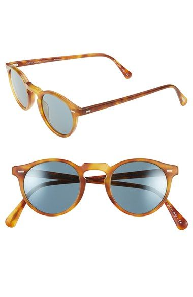 Oliver+Peoples+'Gregory+Peck'+47mm+Retro+Sunglasses+available+at+#Nordstrom