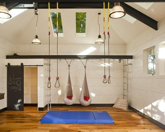 Good Garage Renovated For Family Play   Traditional   Garage And Shed   Seattle    Menter Architects LLC