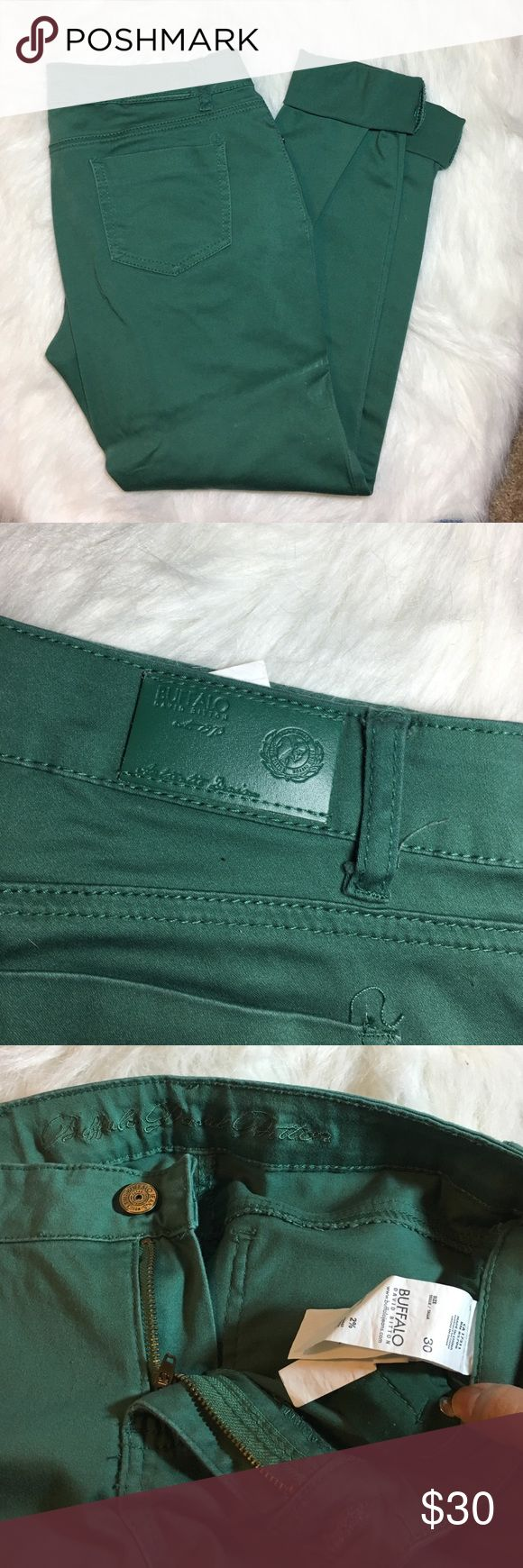 David Bitton skinny jeans Teal/Aqua green skinny jeans by David Bitton used in great condition wore maybe twice they have some stretch to them Buffalo David Bitton Jeans Skinny