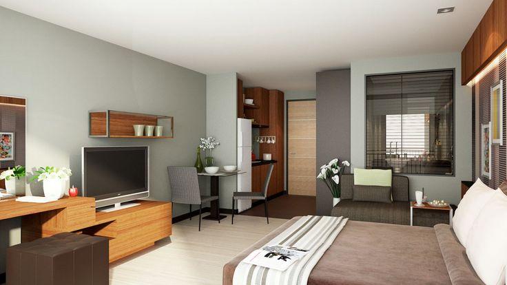 Apartments condo house design modern studio condo for V d interior designer
