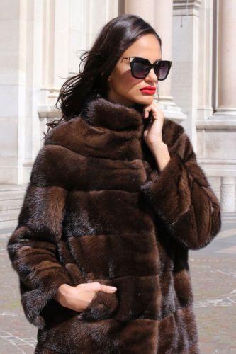 GIACCA VISONE FUR COAT PELLICCIA PELZMANTEL JACKET NERZ  MINK FOURRURE MEX норки | Abbigliamento e accessori, Donna: abbigliamento, Cappotti e giacche | eBay!