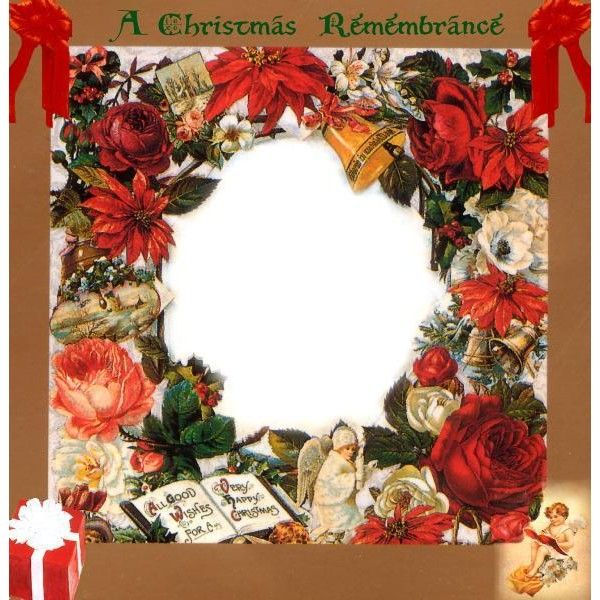 A Christmas Remembrance Frame | Digital Scrapbooking at Scrapbook... ❤ liked on Polyvore