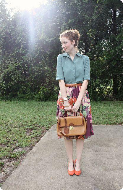 flower skirt :)