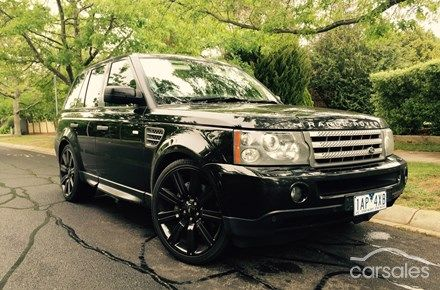 2008 Land Rover Range Rover Sport Super Charged Auto 4x4 MY09
