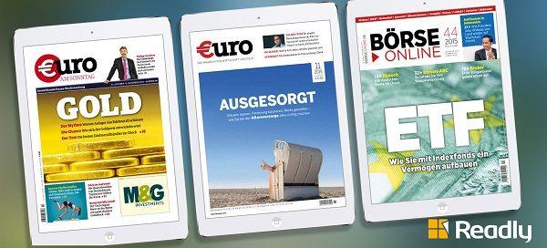Finanzen Verlag ist neuester Partner von Readly