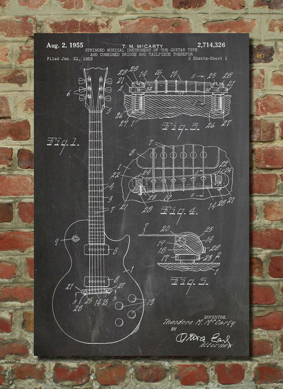 Hey, I found this really awesome Etsy listing at https://www.etsy.com/listing/172818181/gibson-les-paul-guitar-poster-guitar-art