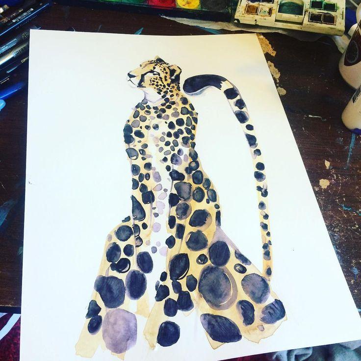Cheetah spots in marker... #cheetah #cheetahlove #cat #junglecat #africanart #africananimals #africanprint #paint #painting #art #artwork #artist #artistlife #art🎨 #artstudio #artistsoninstagram #artsy #animal #animalart #crystalcheetah201