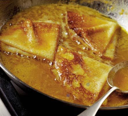 Ultimate Crêpes Suzette: Whip up the ultimate pancakes and Crêpes Suzette with Angela Nilsen's recipes