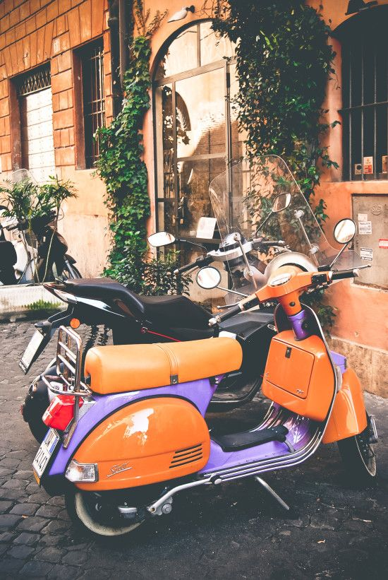 I also need to go to Rome, and travel around on one of these with an attractive native who just 'happens' to see me strolling down the streets, and offers me a 'local-tour' of the town.