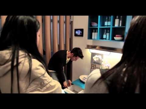 Scavolini has presented in world preview 6 collections of bathroom furniture! #Salone2012 #MilanDesignWeek Salone Internazionale del Bagno 2012