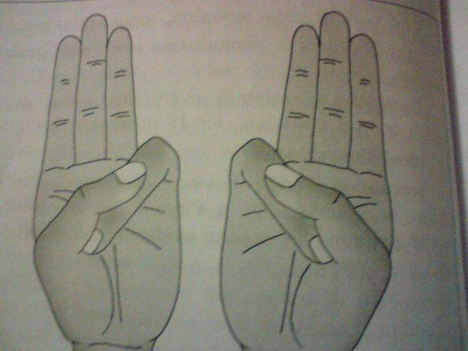 Deine Hand in dieser Position zu halten macht etwas unglaubliches für deinen Körper – Soleil Neige