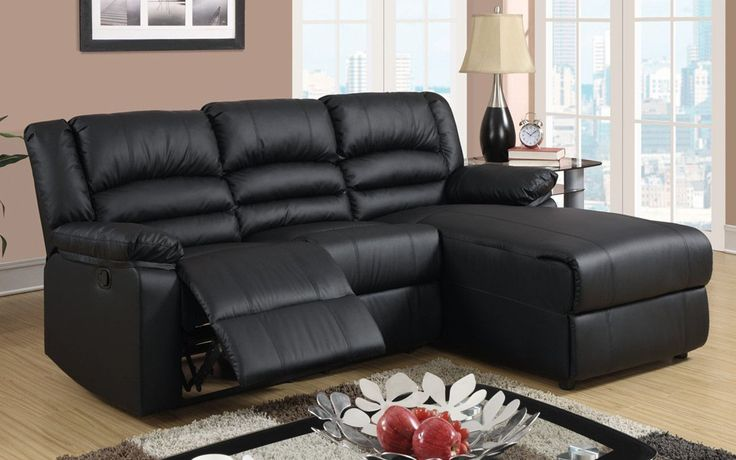 Orion Modern Small Recliner with Chaise