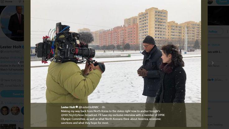 NBCs Lester Holt slammed for 'cotton candy' North Korea coverage on 'cushy' trip to cruel dictatorship Entertainment