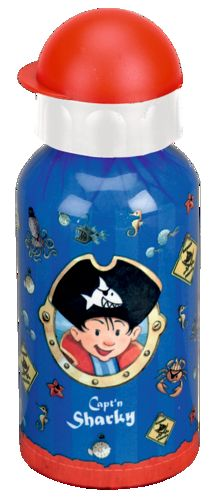Captn Sharky Alu- Trinkflasche