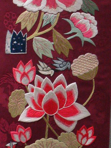 Korean Embroidery by cicilem, via Flickr