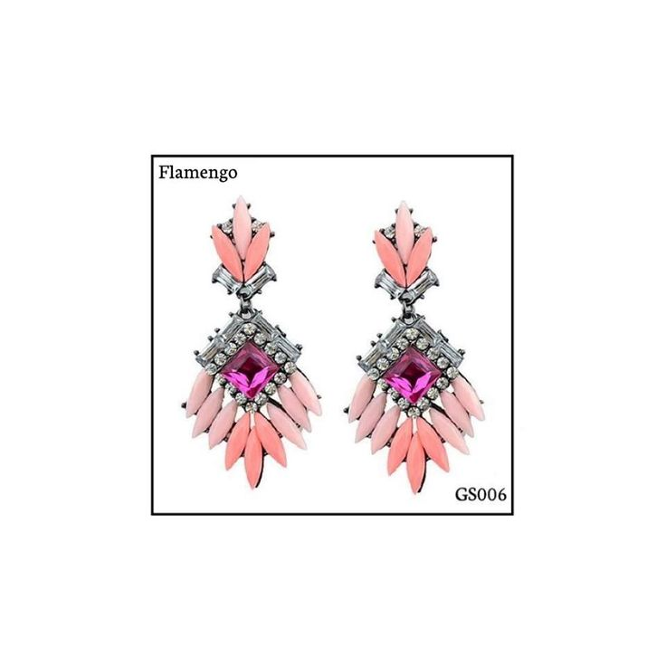 Ref: GS006 Flamengo Medidas: 7 cm x 3.5 cm  So Oh: 10.99  #sooh_store #onlinestore #boho #style #brincos #earrings #fashion #shoponline